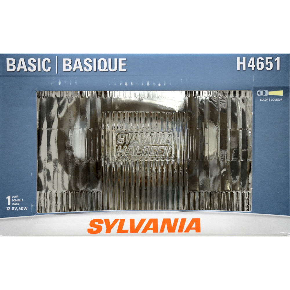 SYLVANIA RETAIL PACKS - Box Headlight Bulb (High Beam) - SYR H4651.BX