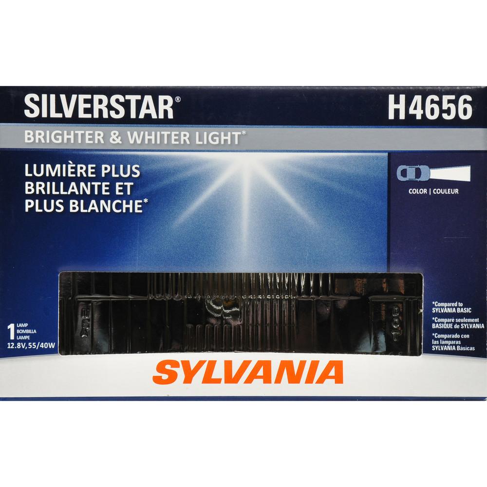 SYLVANIA RETAIL PACKS - SilverStar Box Headlight Bulb (Low Beam) - SYR H4656ST.BX