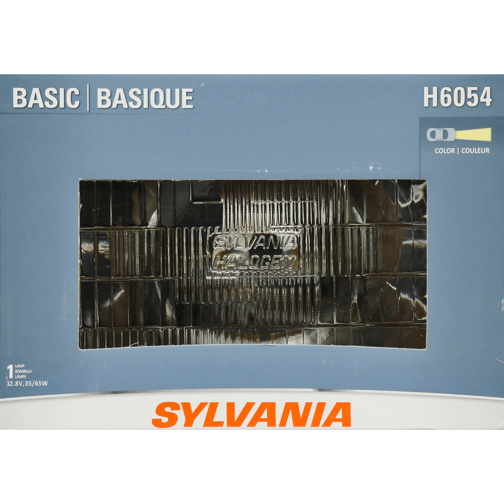 SYLVANIA RETAIL PACKS - Box Headlight Bulb (High Beam and Low Beam) - SYR H6054.BX