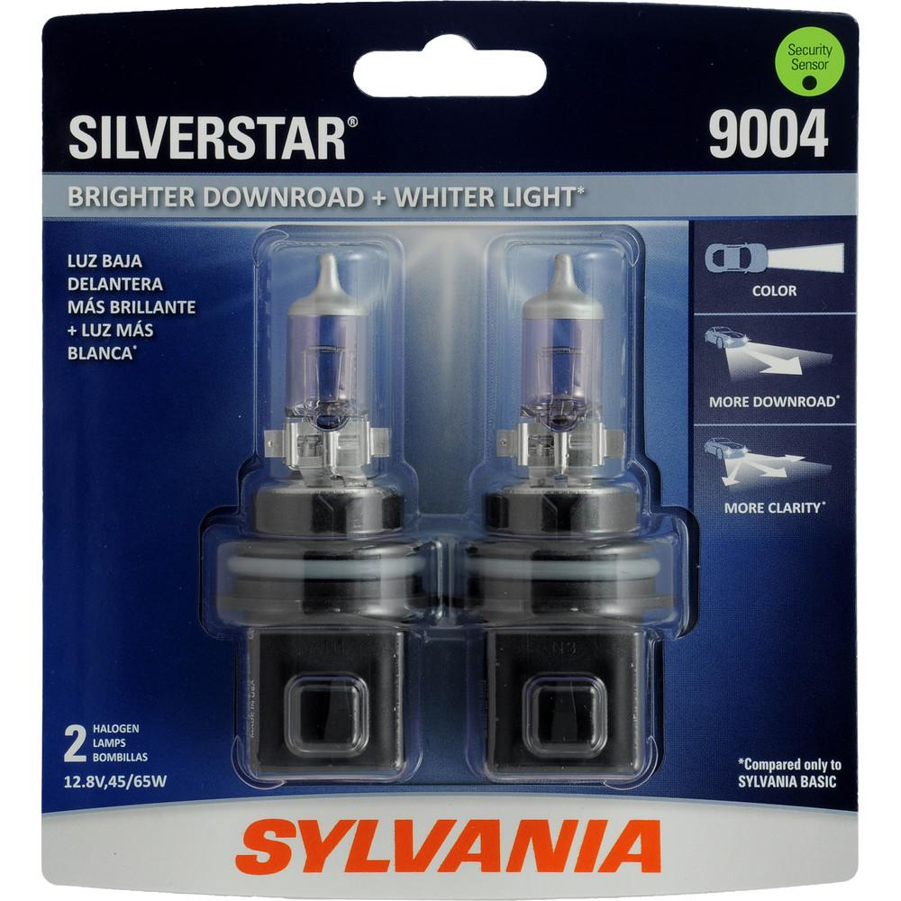 SYLVANIA RETAIL PACKS - SilverStar Blister Pack Twin Headlight Bulb - SYR 9004ST.BP2