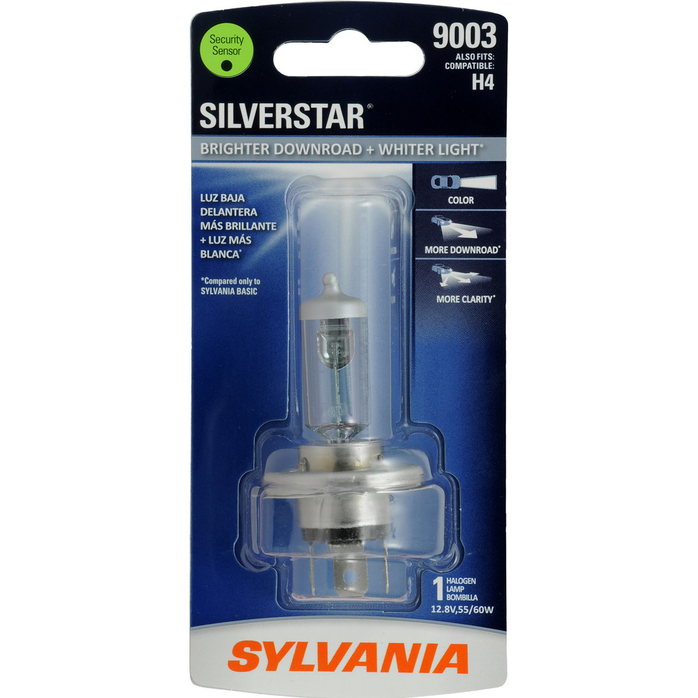 SYLVANIA RETAIL PACKS - SilverStar Blister Pack Headlight Bulb - SYR 9003ST.BP