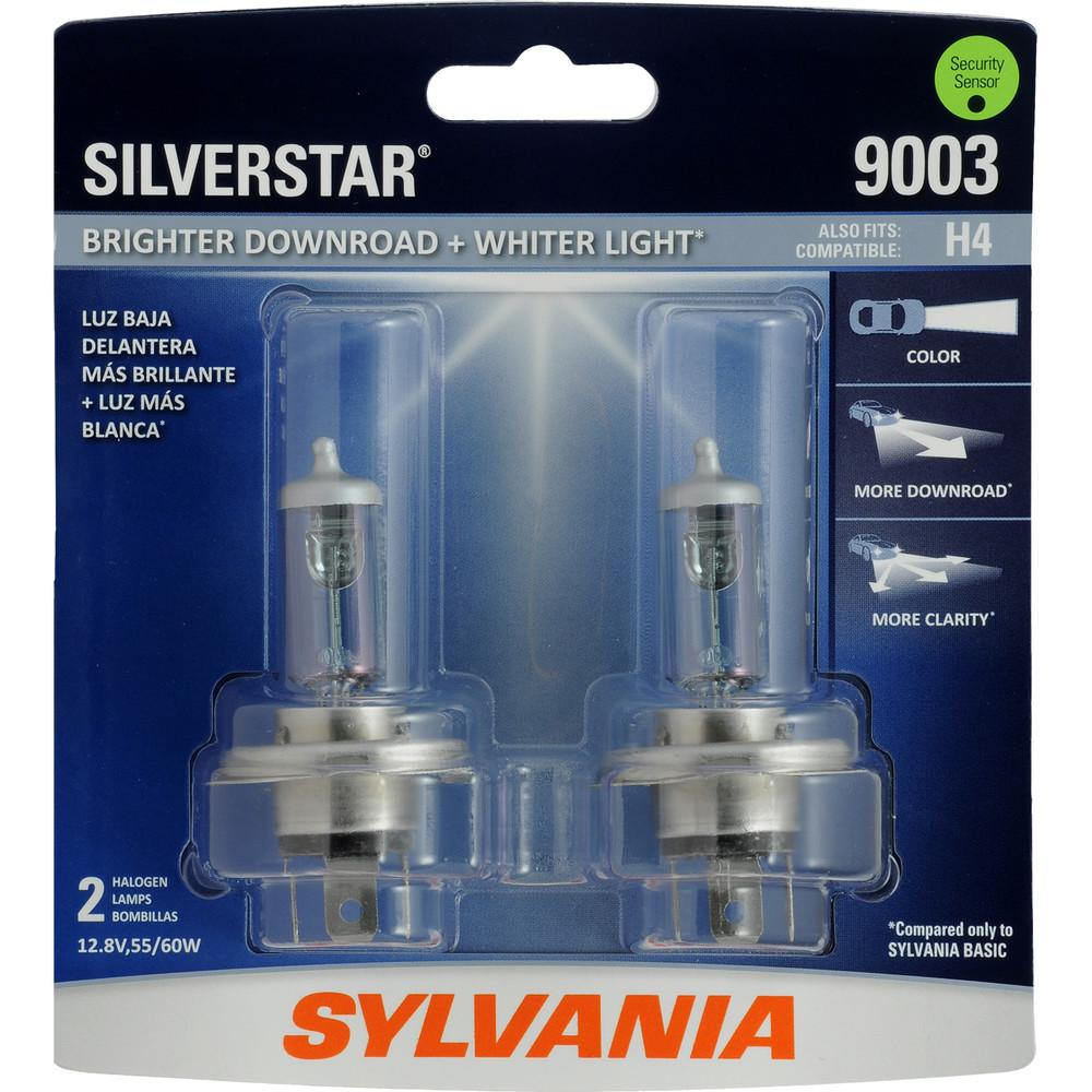 SYLVANIA RETAIL PACKS - SilverStar Blister Pack Twin Headlight Bulb - SYR 9003ST.BP2