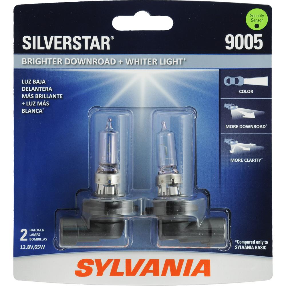 SYLVANIA RETAIL PACKS - SilverStar Blister Pack Twin Headlight Bulb - SYR 9005ST.BP2