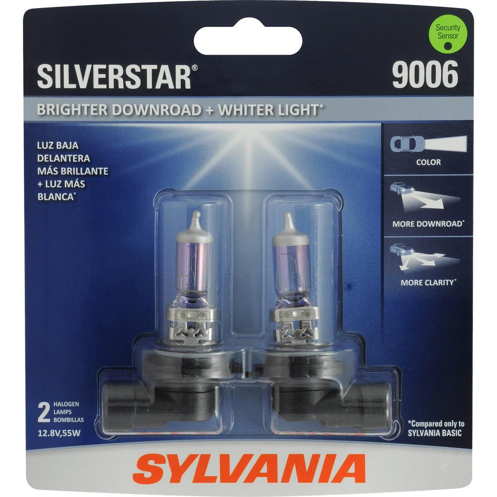 SYLVANIA RETAIL PACKS - SilverStar Blister Pack Twin Headlight Bulb - SYR 9006ST.BP2