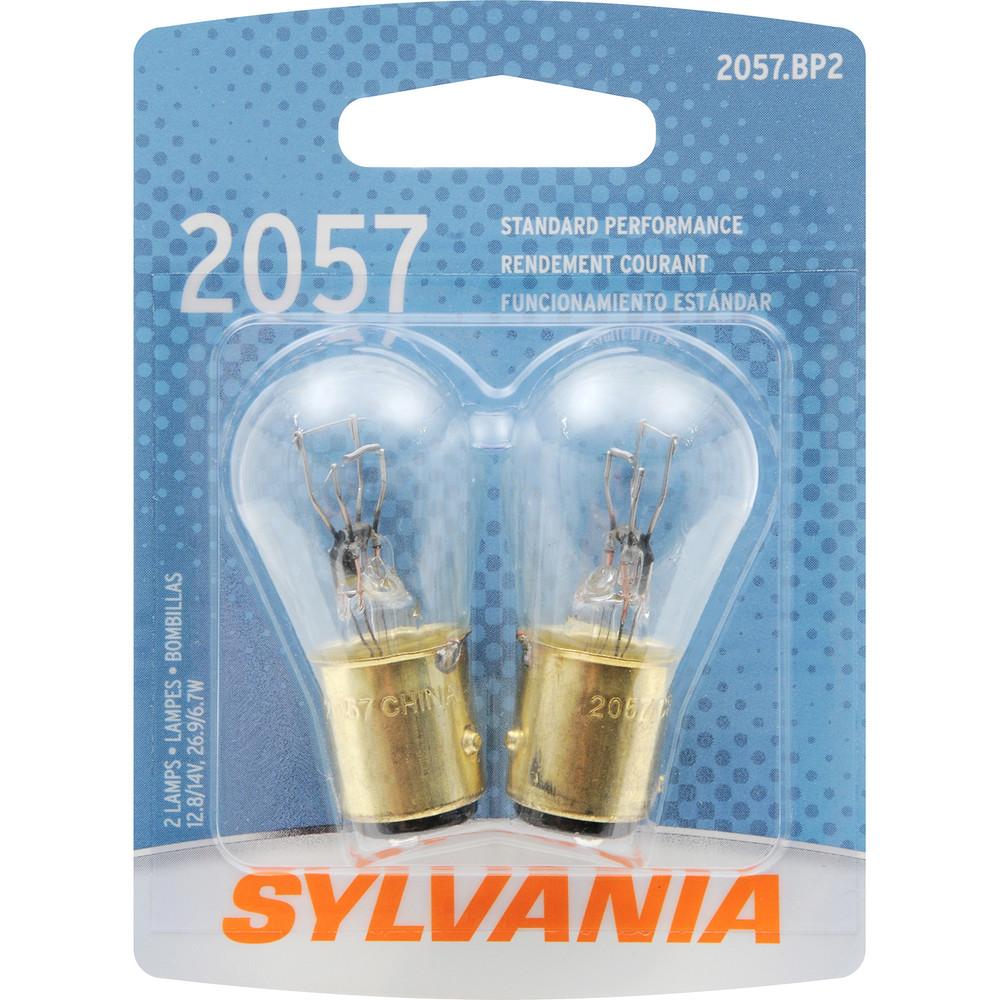 SYLVANIA RETAIL PACKS - Blister Pack Twin Cornering Light Bulb - SYR 2057.BP2