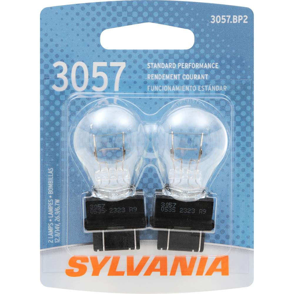 SYLVANIA RETAIL PACKS - Blister Pack Twin Center High Mount Stop Light Bulb - SYR 3057.BP2