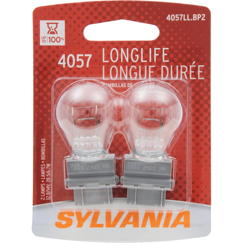 SYLVANIA RETAIL PACKS - Long Life Blister Pack Twin Tail Light Bulb - SYR 4057LL.BP2