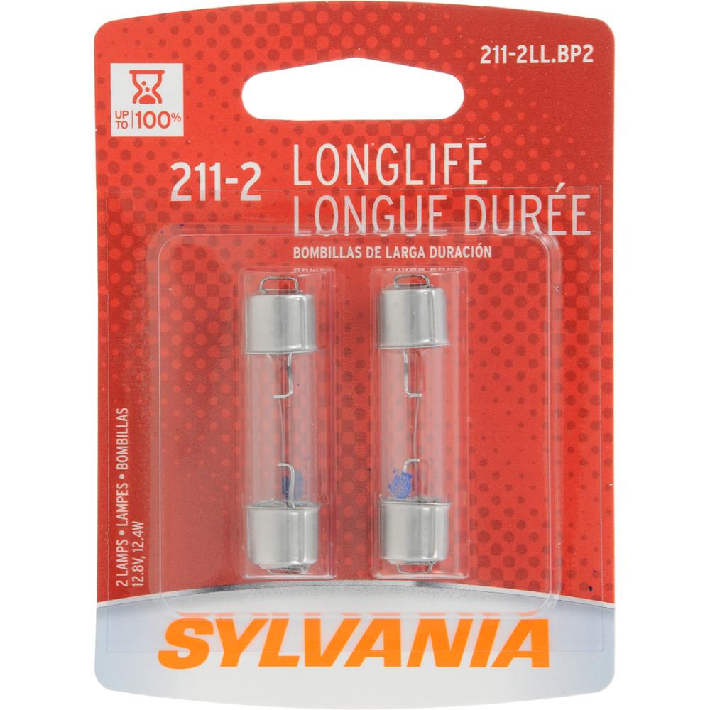 SYLVANIA RETAIL PACKS - Long Life Blister Pack Twin Dome Light Bulb - SYR 211-2LL.BP2