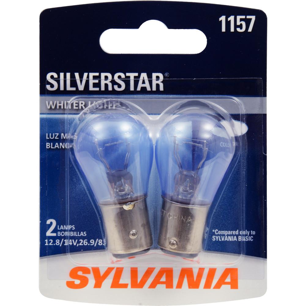 SYLVANIA RETAIL PACKS - SilverStar Blister Pack Twin Brake Light Bulb - SYR 1157ST.BP2