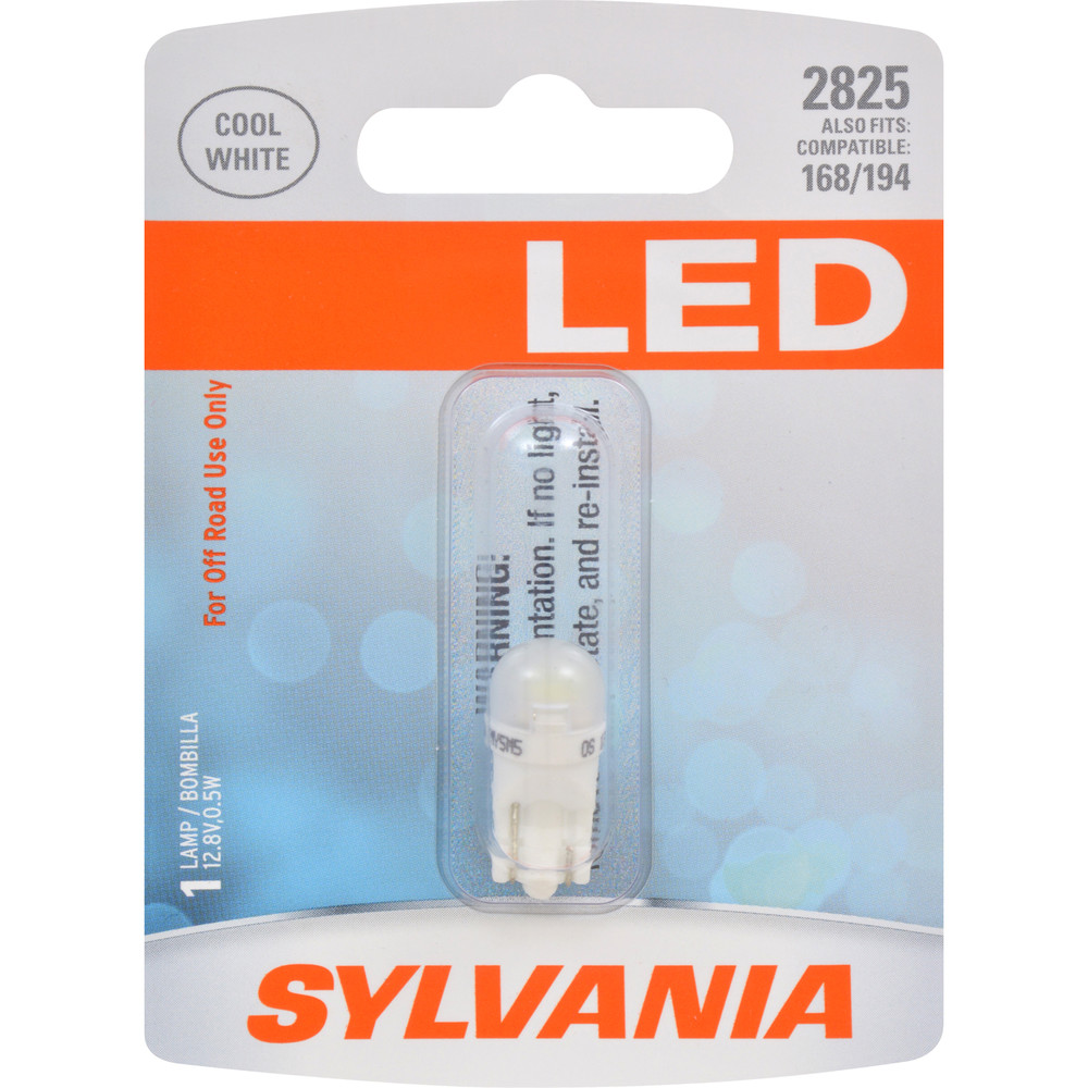 SYLVANIA RETAIL PACKS - LED Blister Pack Door Mirror Illumination Light Bulb - SYR 2825SL.BP