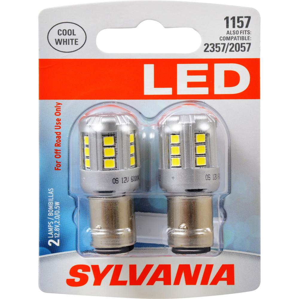 SYLVANIA RETAIL PACKS - LED Blister Pack Twin Turn Signal Light Bulb (Front) - SYR 1157SL.BP2