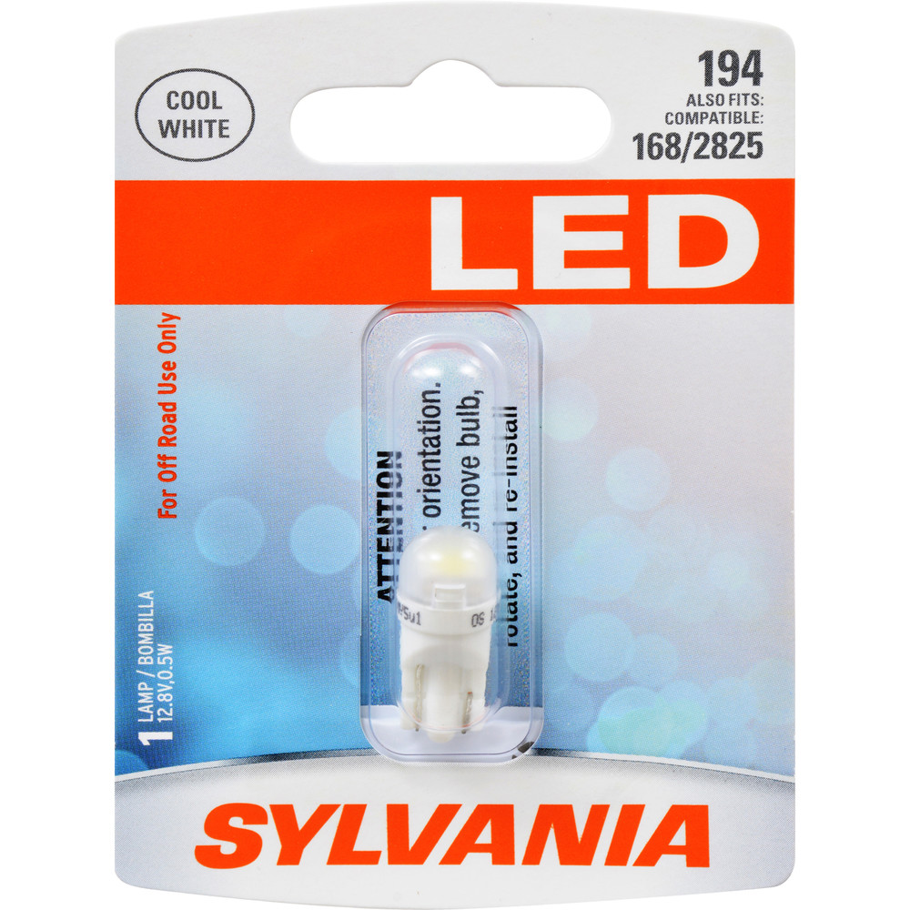 SYLVANIA RETAIL PACKS - LED Blister Pack Side Marker Light Bulb - SYR 194SL.BP
