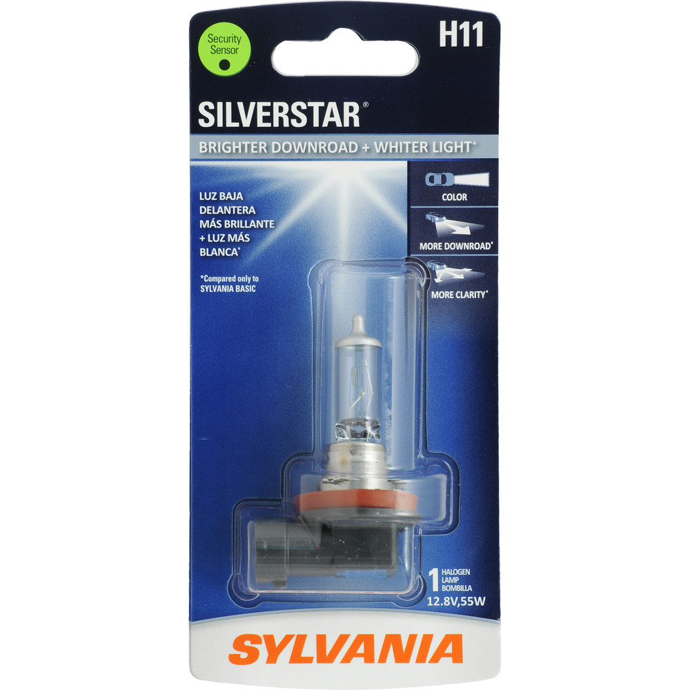 SYLVANIA RETAIL PACKS - SilverStar Blister Pack Headlight Bulb - SYR H11ST.BP