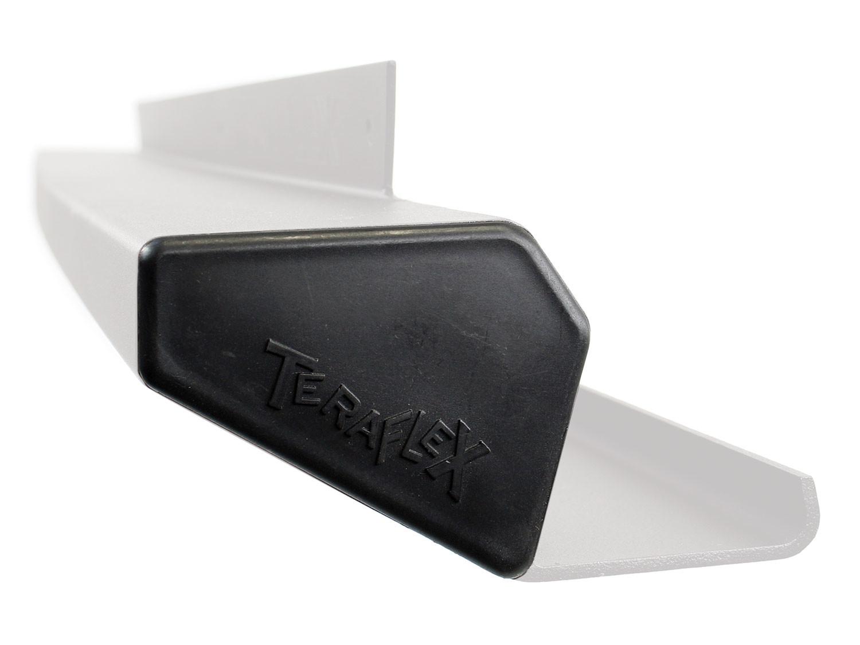 TERAFLEX - JK Rock Slider Cap Rear Driver/Front Passenger 07-Pres Wrangler JK - TFX 634100