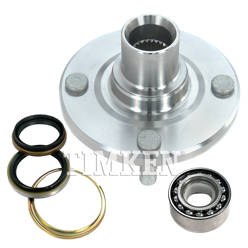 TIMKEN - Wheel Bearing and Hub Assembly ( Without ABS Brakes, With ABS Brakes, Front) - TIM 518507