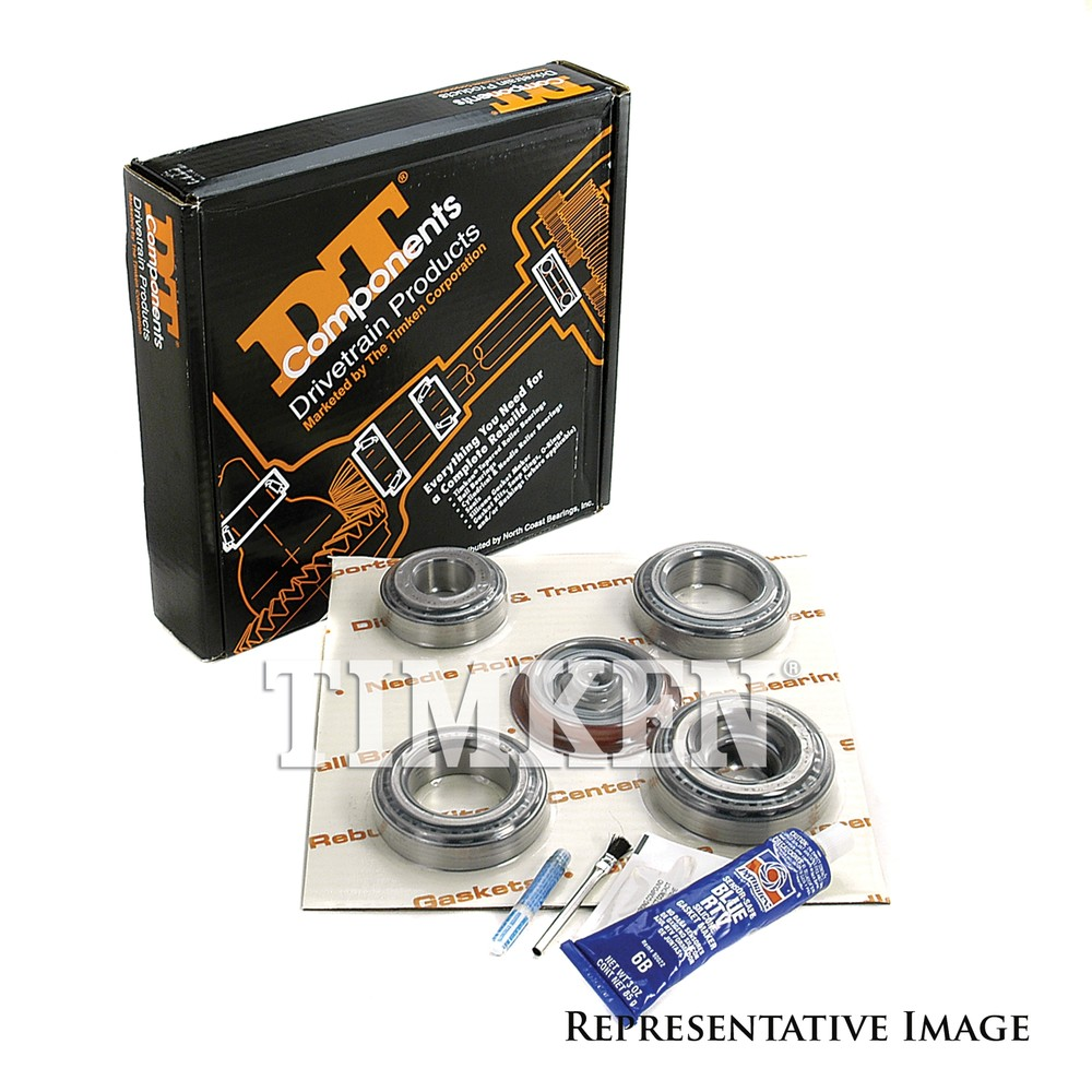 TIMKEN - Axle Differential Bearing and Seal Kit - TIM DRK324A