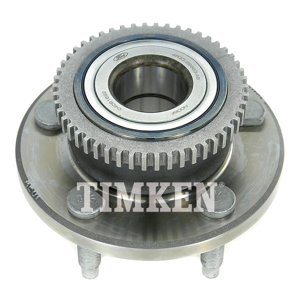 TIMKEN - Wheel Bearing and Hub Assembly (Front) - TIM HA590017