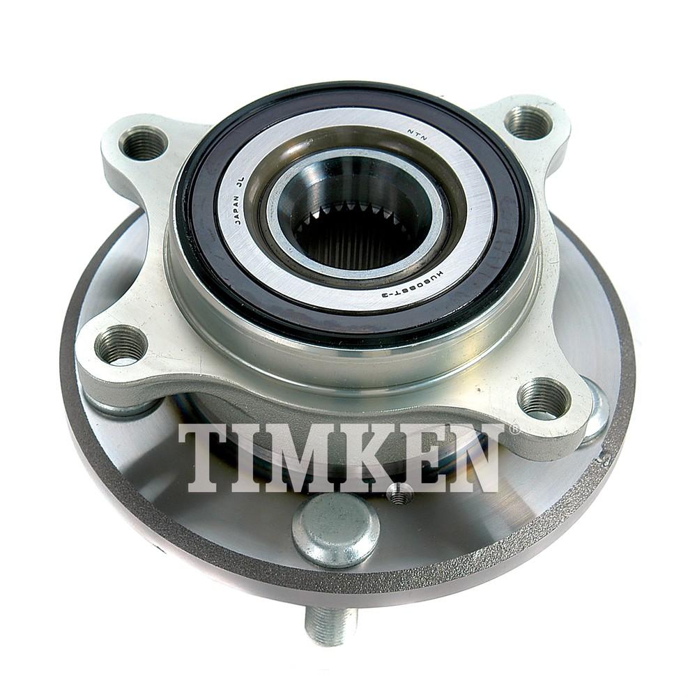 TIMKEN - Wheel Bearing & Hub Assembly - TIM HA590147