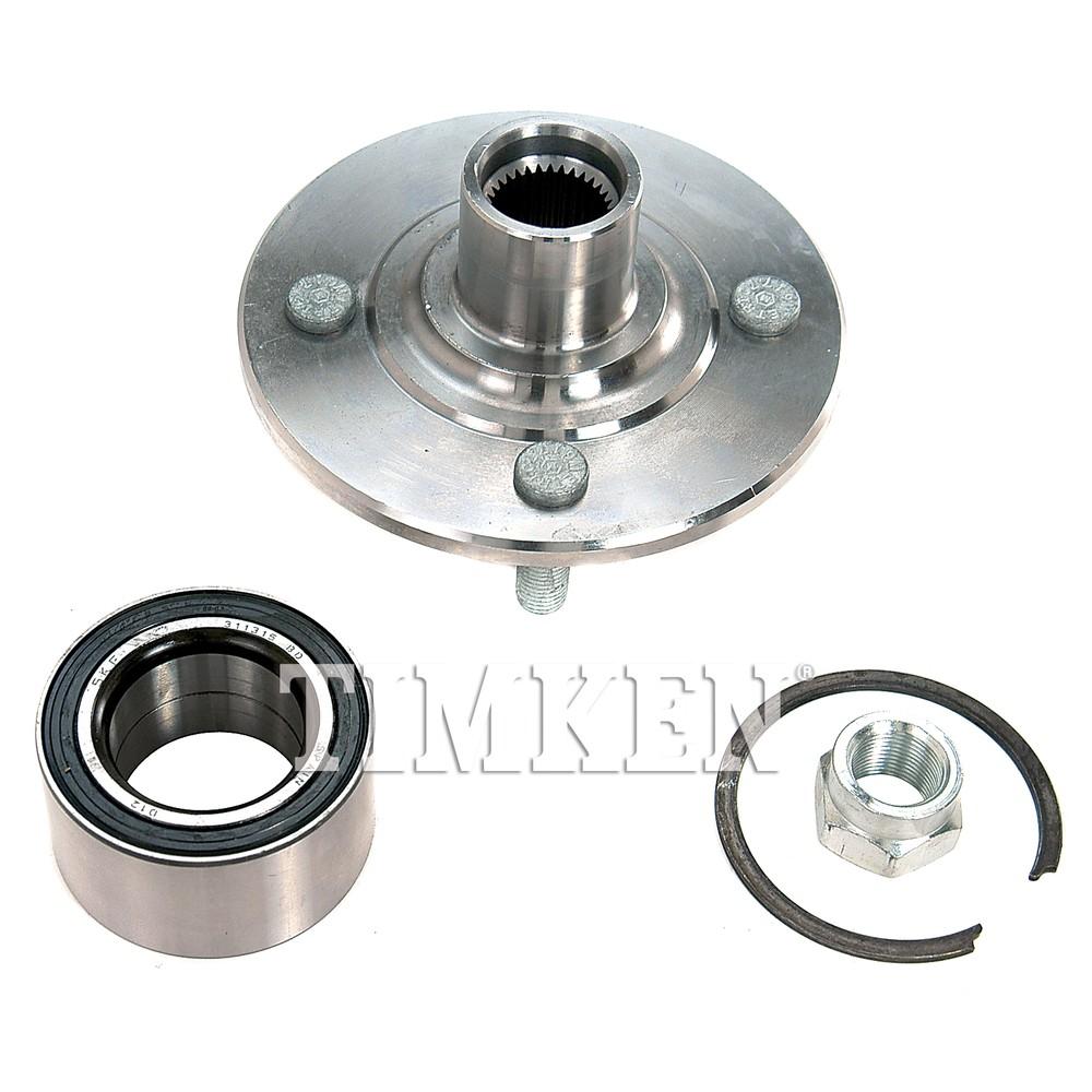 TIMKEN - Wheel Bearing and Hub Assembly (Front) - TIM HA590156K