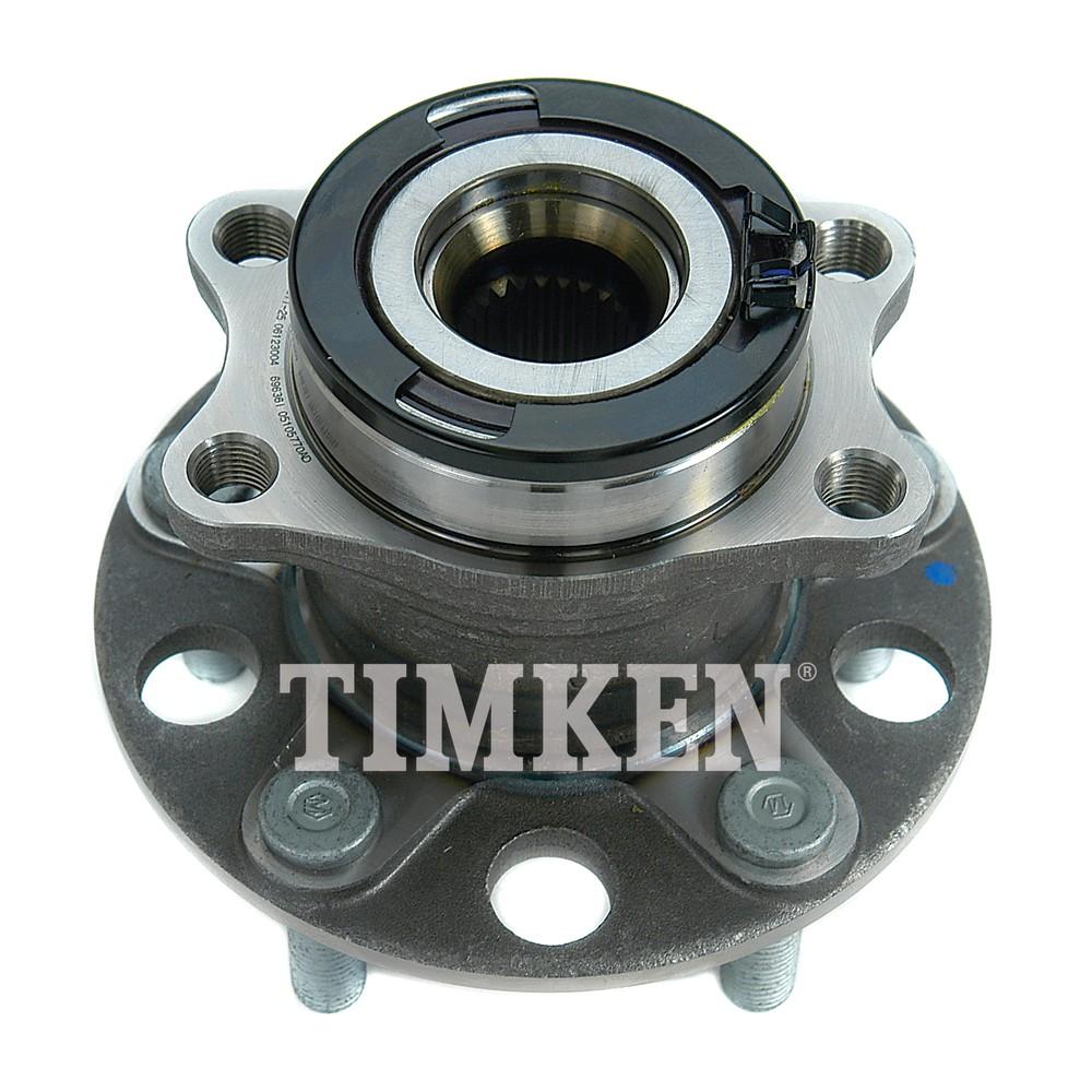 TIMKEN - Wheel Bearing and Hub Assembly (Rear) - TIM HA590230