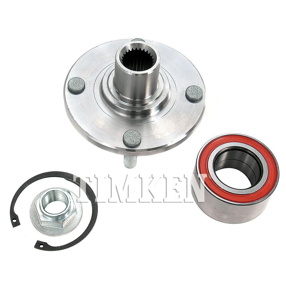 TIMKEN - Wheel Bearing and Hub Assembly (Front) - TIM HA590263K