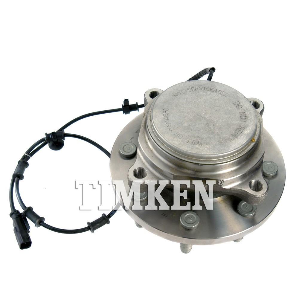 TIMKEN - Wheel Bearing and Hub Assembly (Front) - TIM HA590466