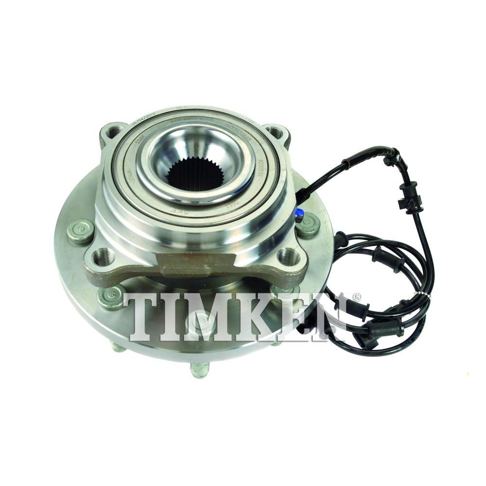 TIMKEN - Wheel Bearing and Hub Assembly (Front) - TIM HA590467