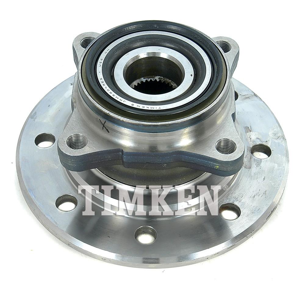 TIMKEN - Wheel Bearing and Hub Assembly (Front) - TIM HA591339