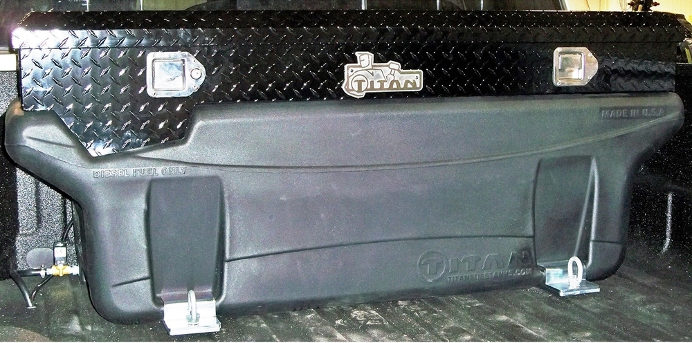 TITAN FUEL TANKS - Liquid Transfer Tank / Tool Box Unit - TIT 9901170