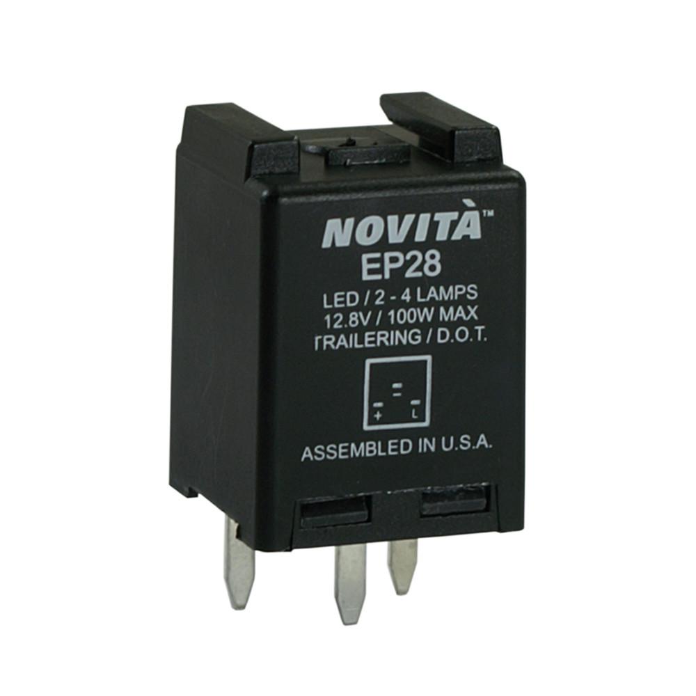 NOVITA FLASHERS - Turn Signal Flasher - TRD EP28