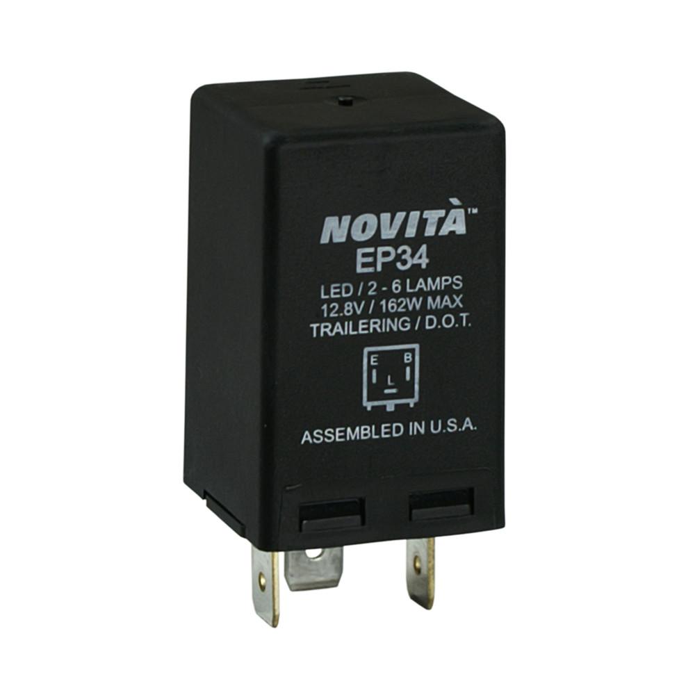 NOVITA FLASHERS - Electronic Flasher - TRD EP34