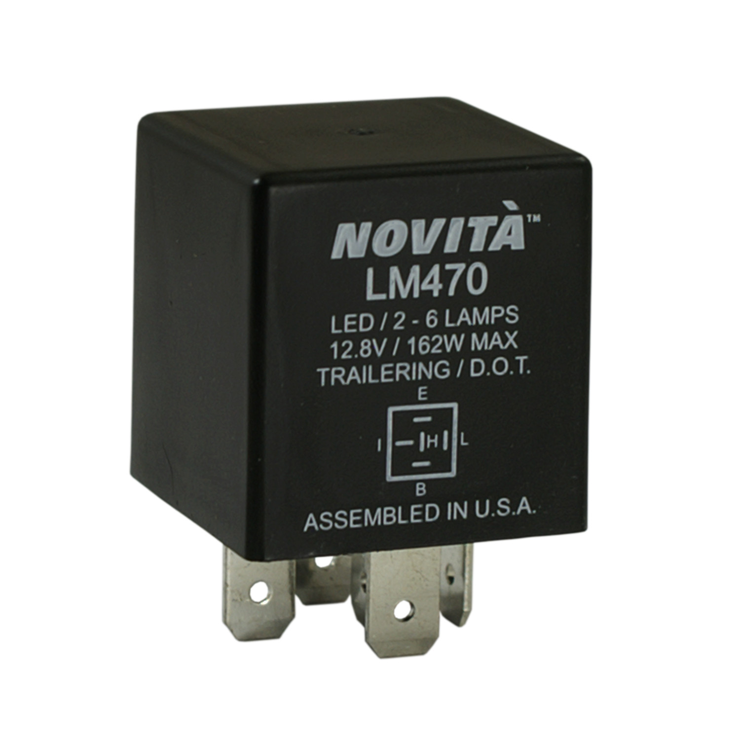 NOVITA FLASHERS - Lighting Control Module - TRD LM470
