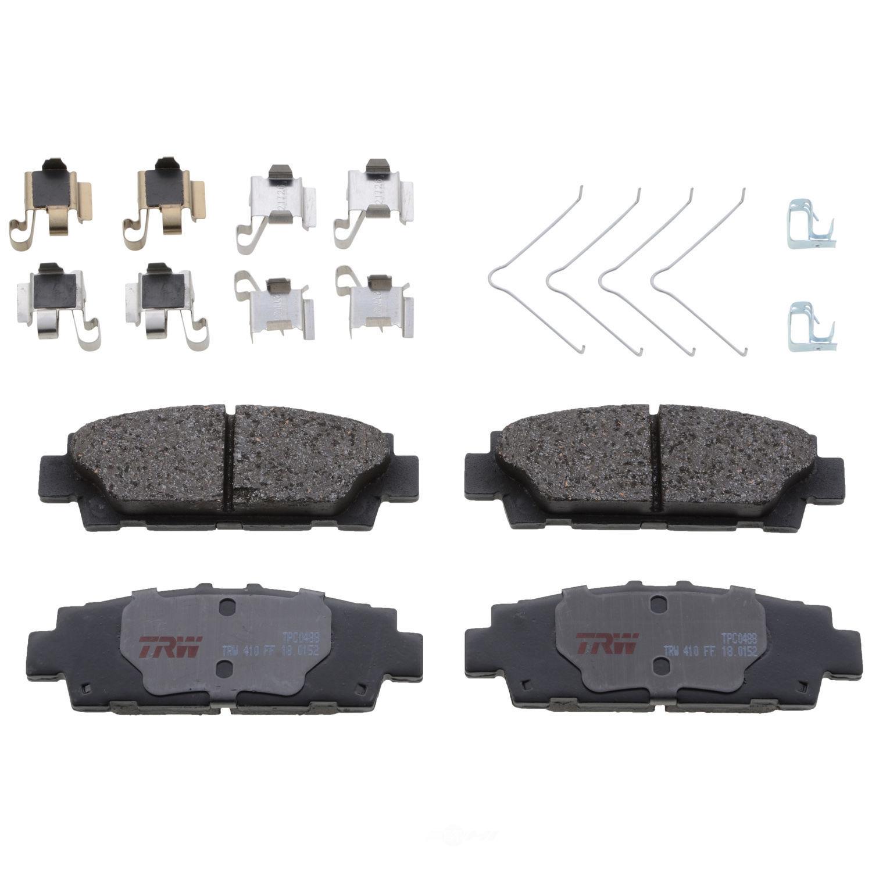 TRW AUTOMOTIVE - TRW Premium Disc Brake Pad (Rear) - TWA TPC0488