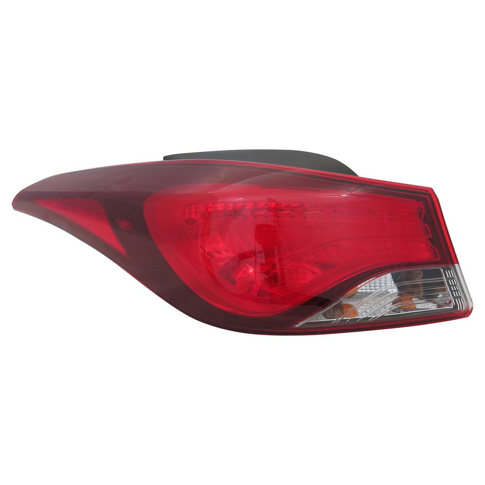 TYC - Capa Tail Light Certified - TYC 11-6758-00-9