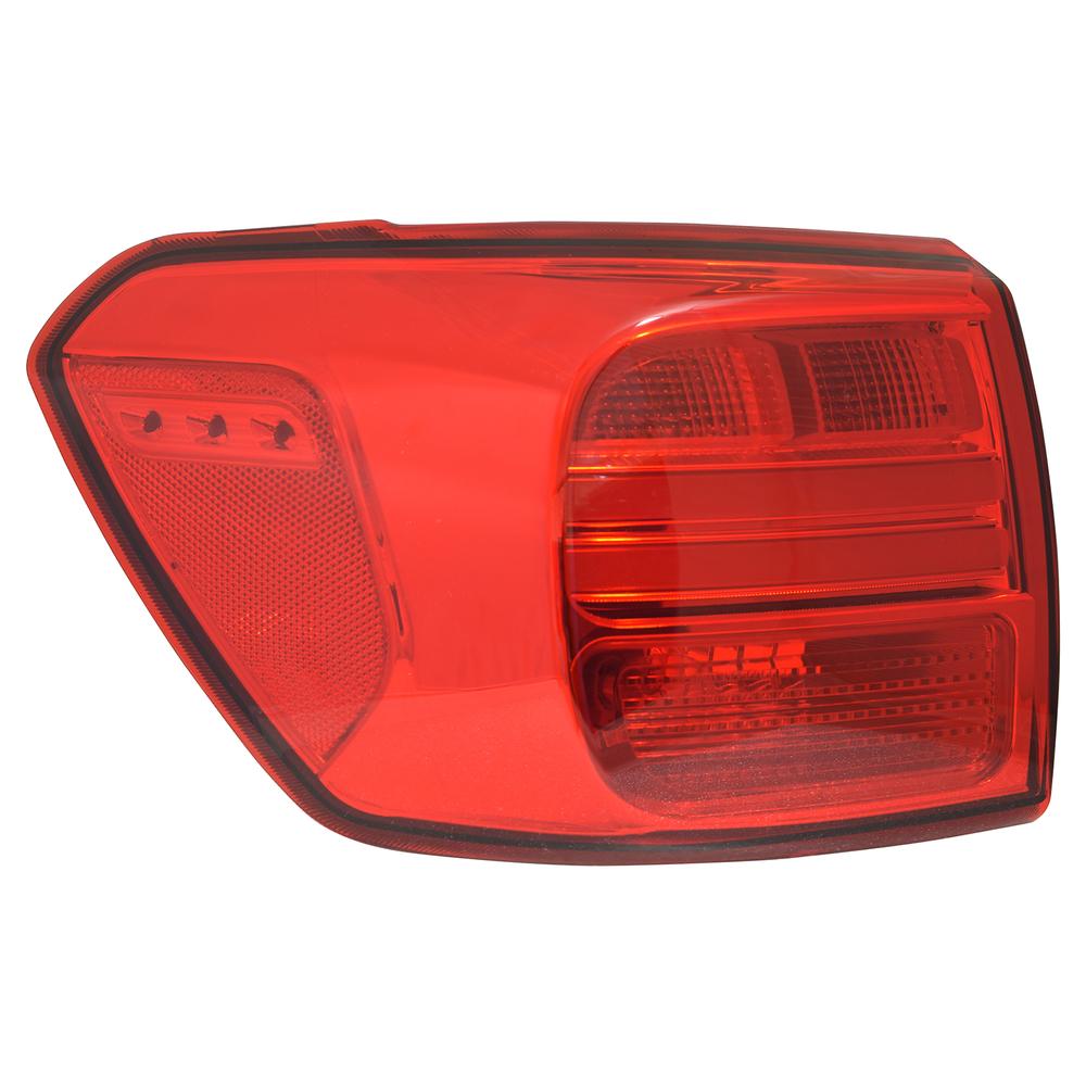 TYC - Nsf Tail Light Certified Tail Light - TYC 11-6766-00-1