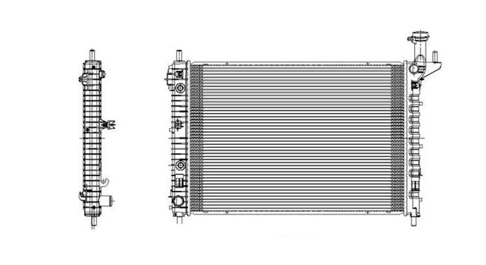 TYC - TYC Radiator - TYC 13007