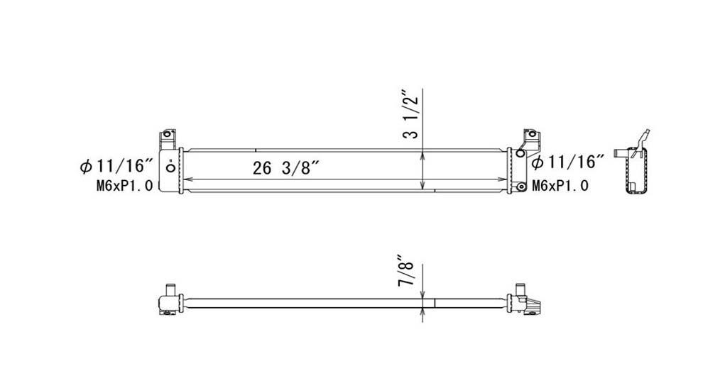 TYC - Inverter Cooler - TYC 13300