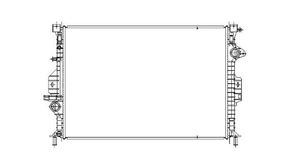 TYC - Radiator Assembly - TYC 13315