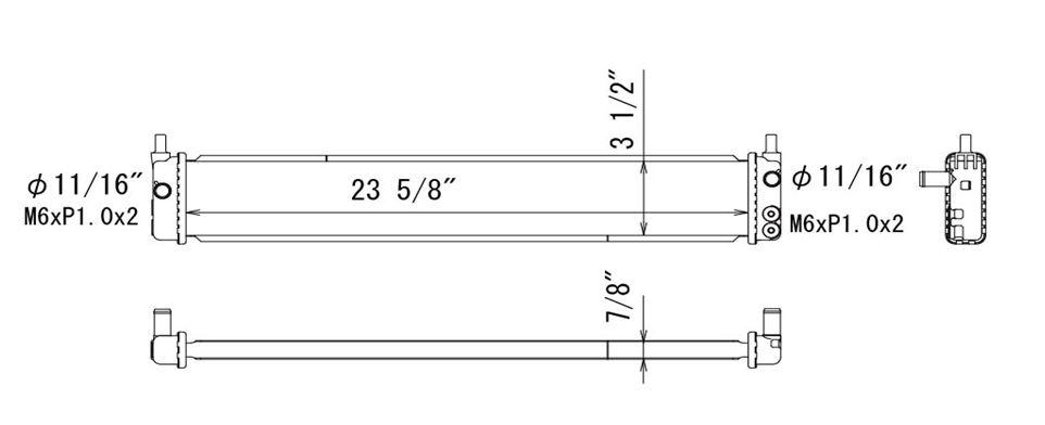 TYC - Inverter Cooler - TYC 13436