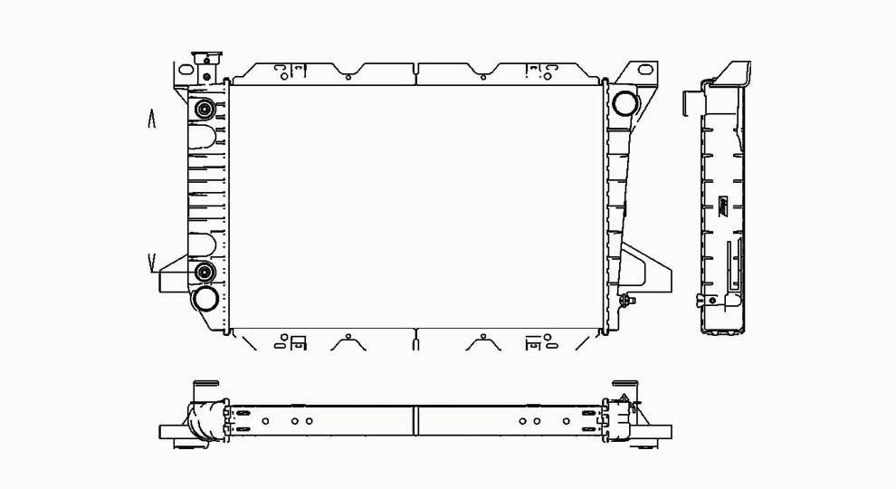 TYC - Radiator Assembly - TYC 1451