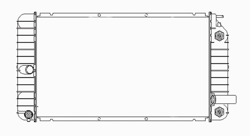TYC - Radiator Assembly - TYC 1515