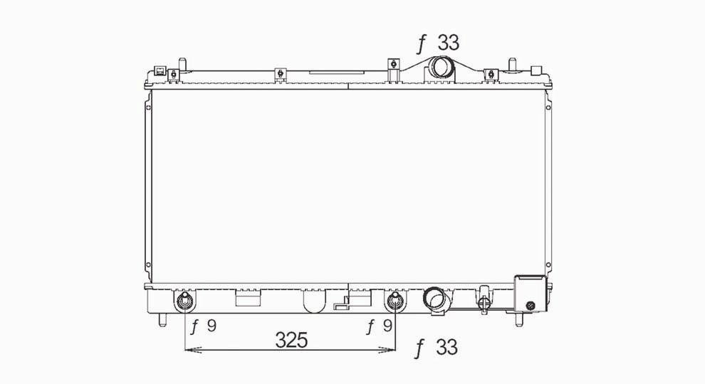 TYC - Radiator Assembly - TYC 1548