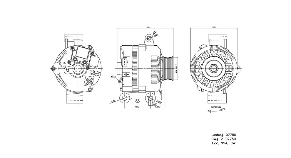 TYC - Alternator - TYC 2-07750