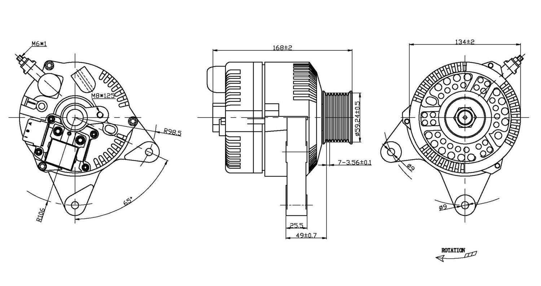 TYC - Alternator - TYC 2-07790