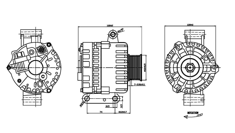TYC - Alternator - TYC 2-08479