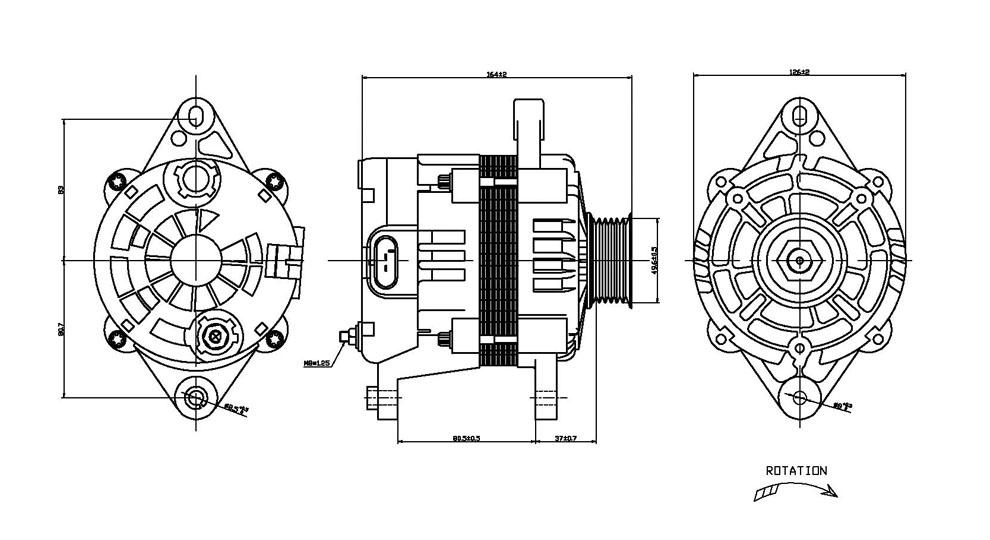 TYC - Alternator - TYC 2-08483