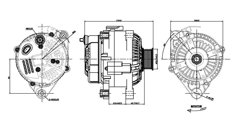TYC - Alternator - TYC 2-11191