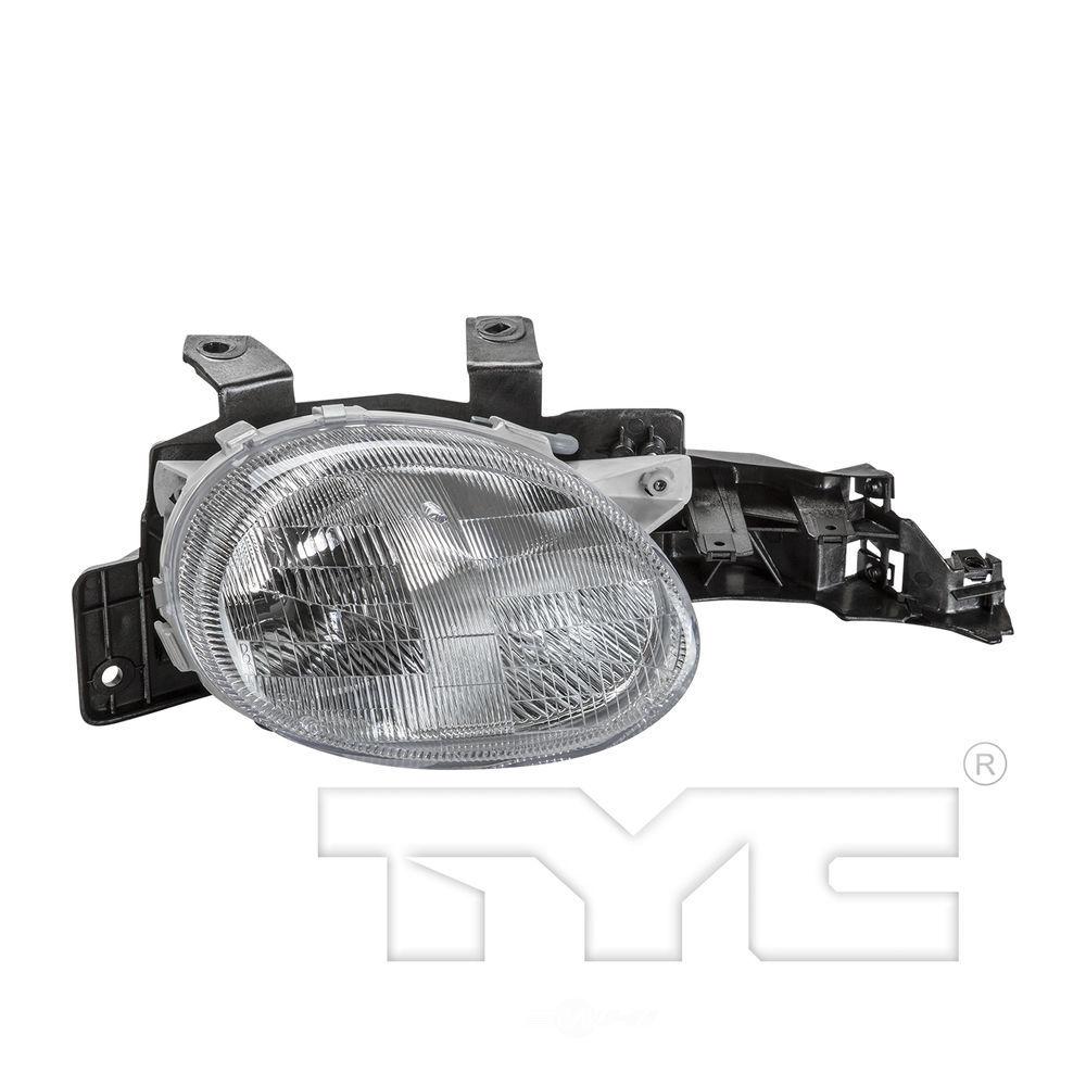 TYC - Headlight Lens Housing - TYC 20-3006-01