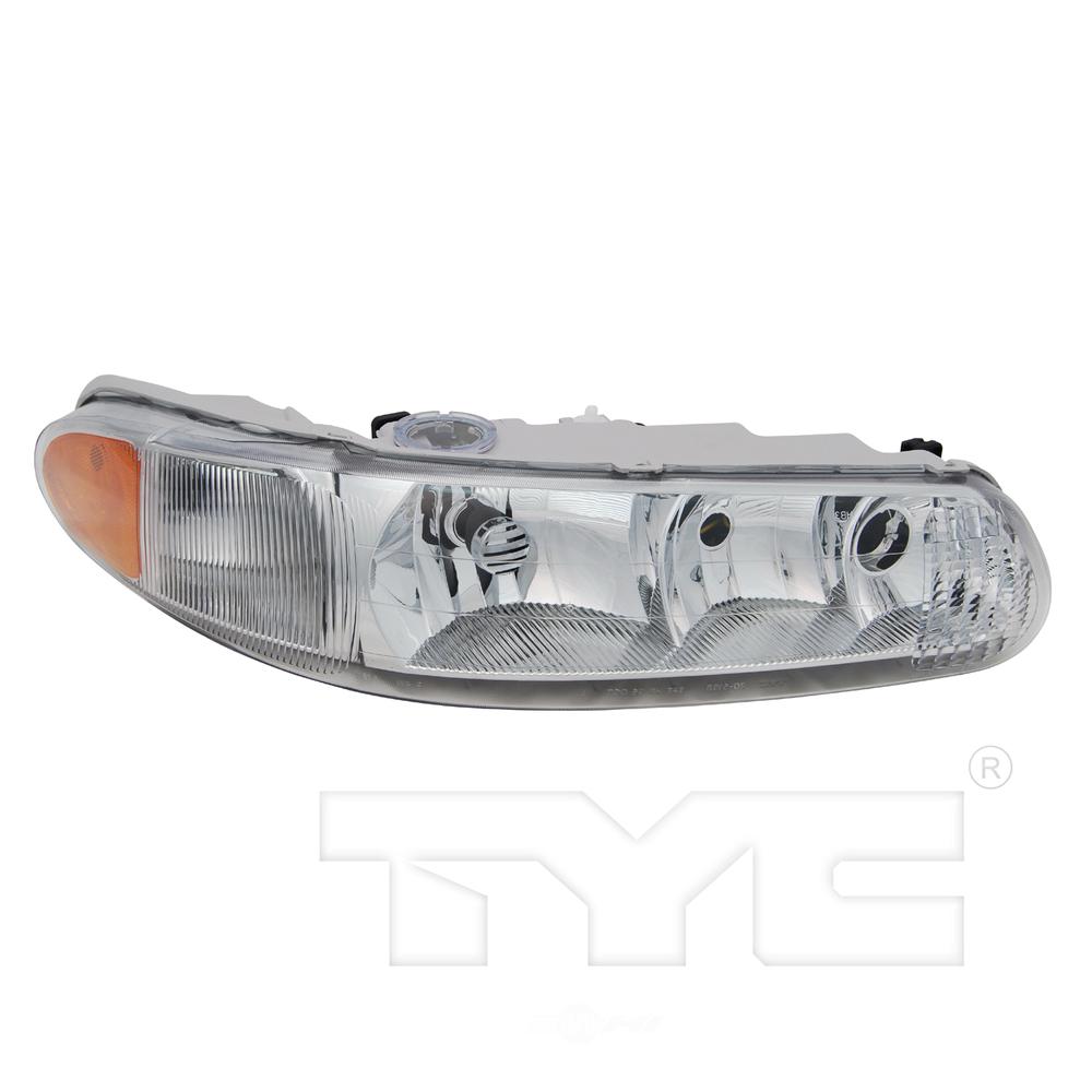 TYC - CAPA Certified Headlight - TYC 20-5197-01-9