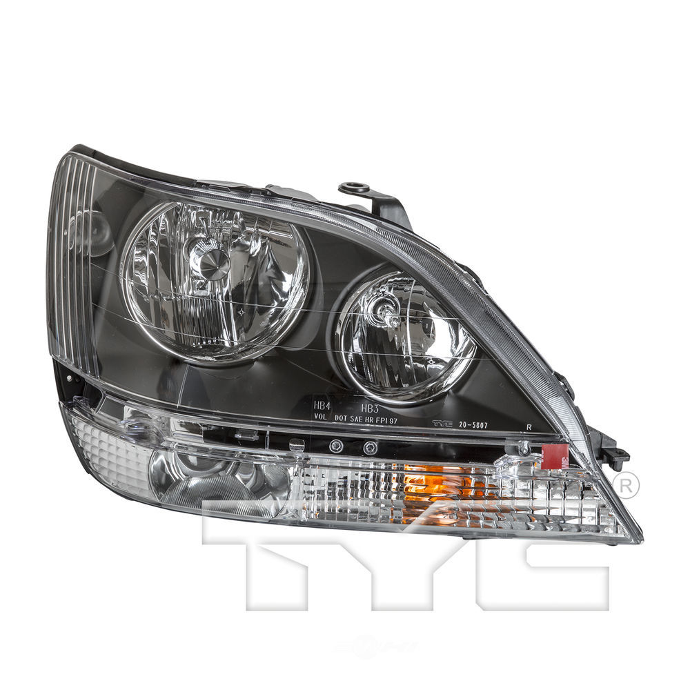 TYC - Headlight - TYC 20-5807-00